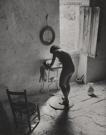 Willy Ronis, the story behind his photograph, Nu provençal (Provençal nude)